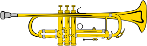 trumpet, from openclipart