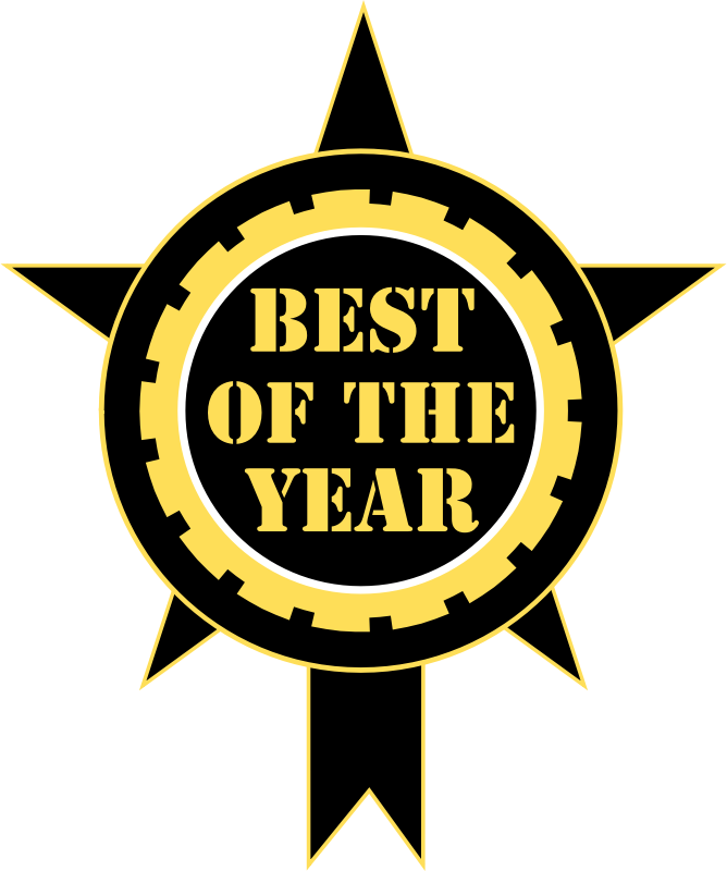 Best Of The Year Sticker