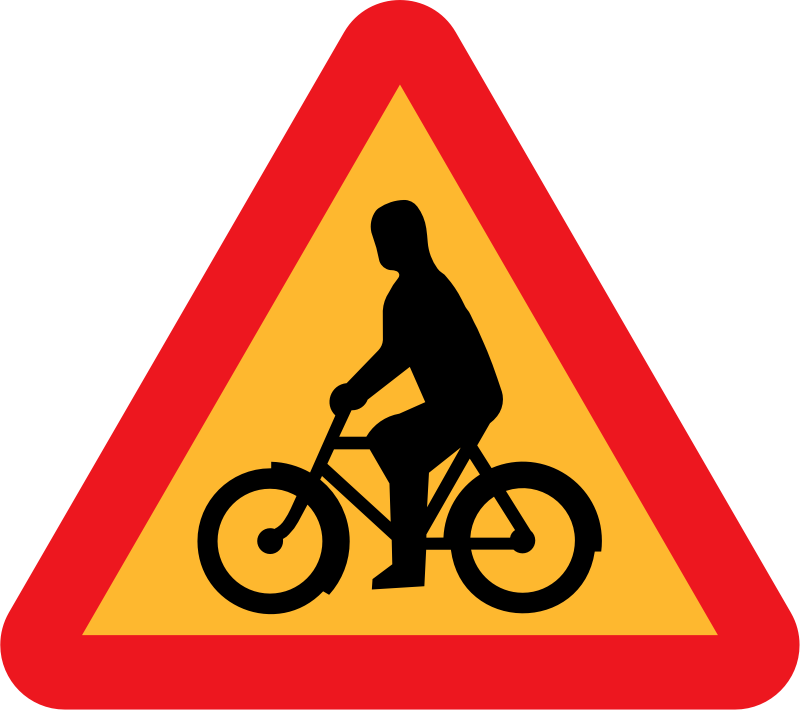 Bicycles Roadsign