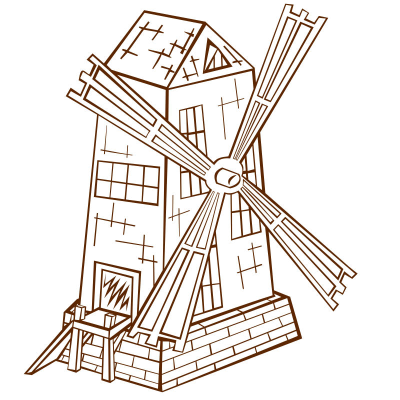 RPG map symbols Windmill 1