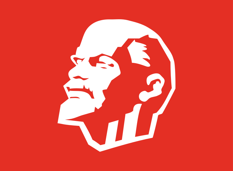 Leninist flag by Rones