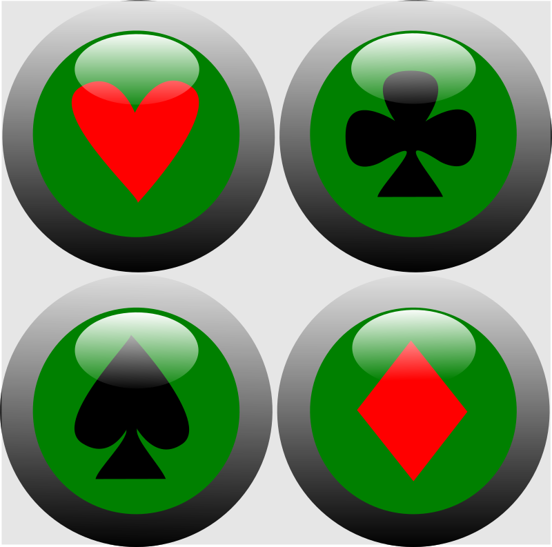 set poker buttons