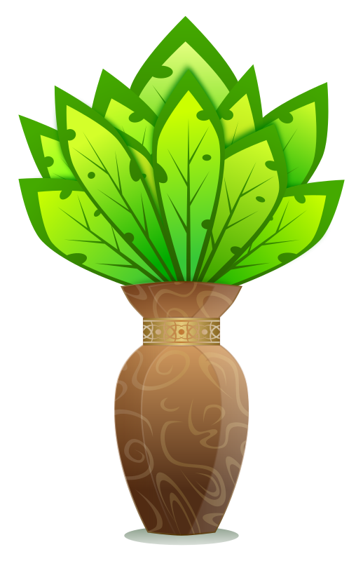 Plant And Vase / Planter