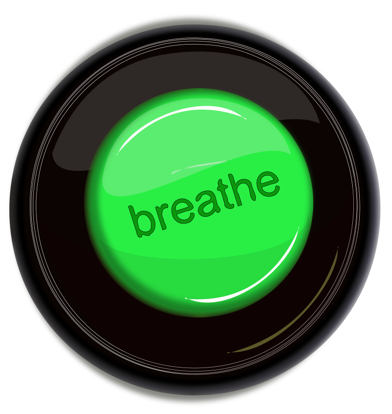 breathe icon button