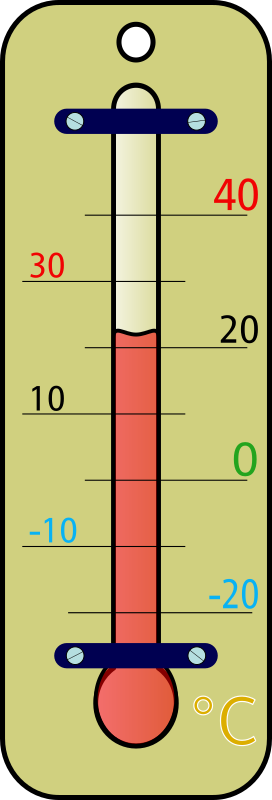 room thermometer celsius