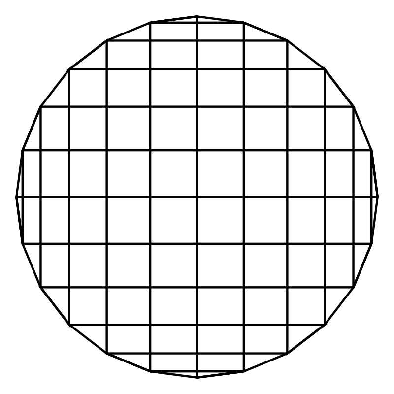 24gon rectangle grid