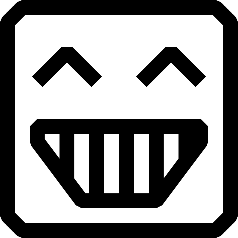 16x16px-capable, black and white icons