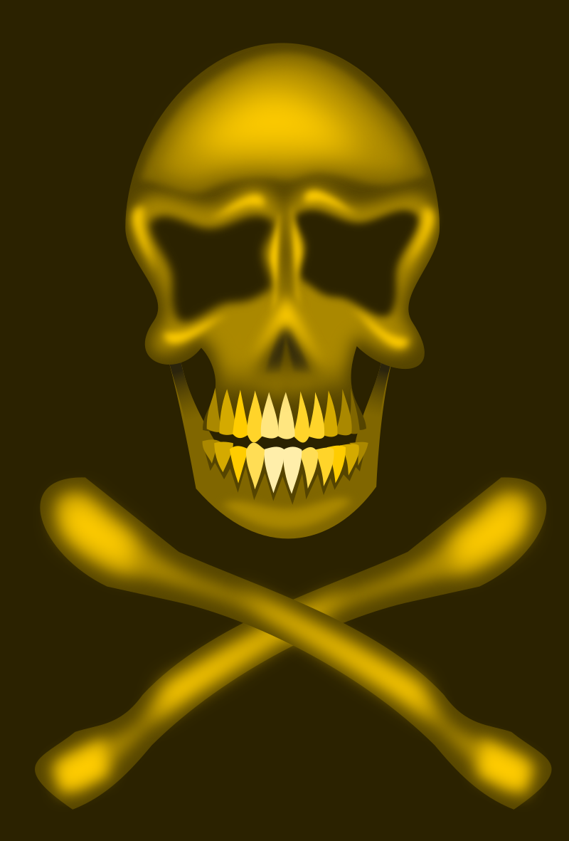 skull and cross bones?
