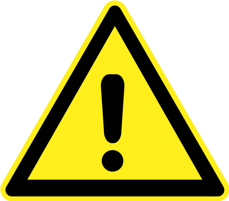 Signs Hazard Warning - Generic