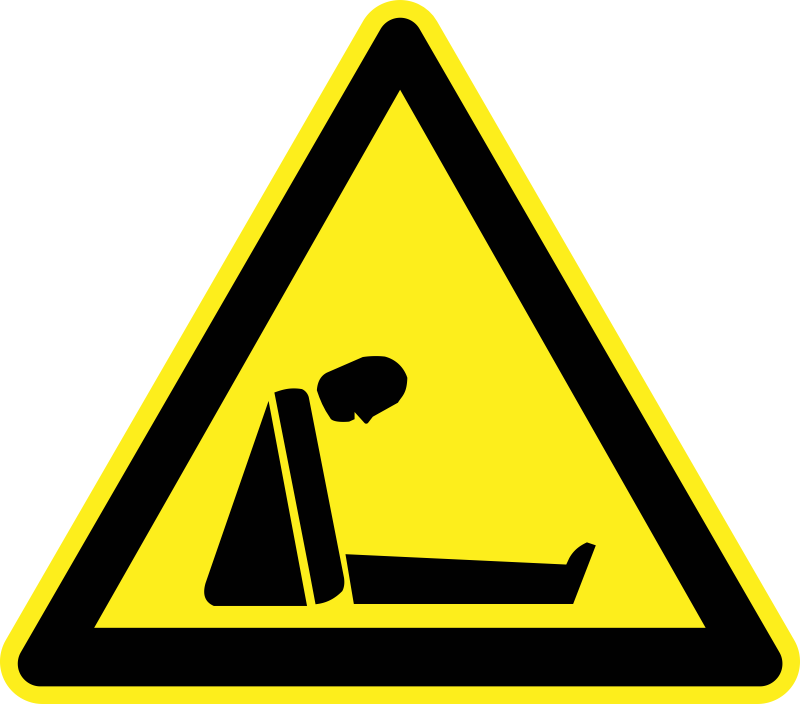 Suffocation (Asphyxiation) Warning Sign