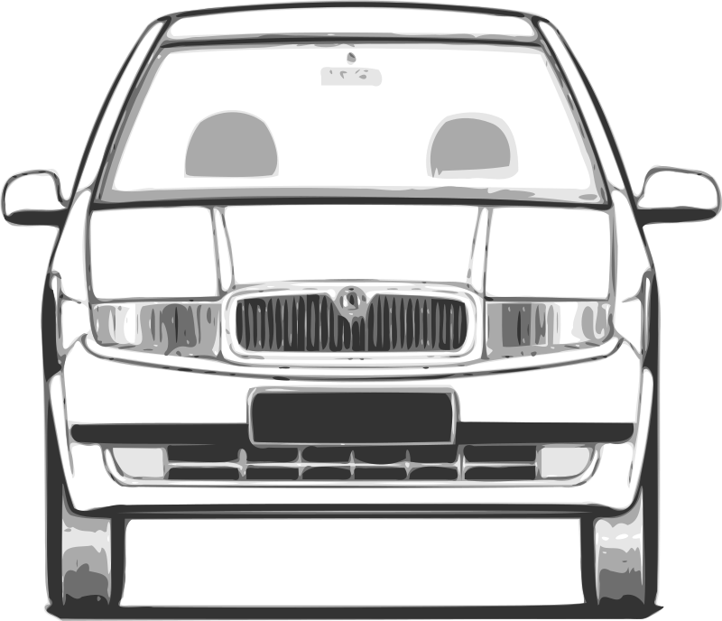 fabia - front view