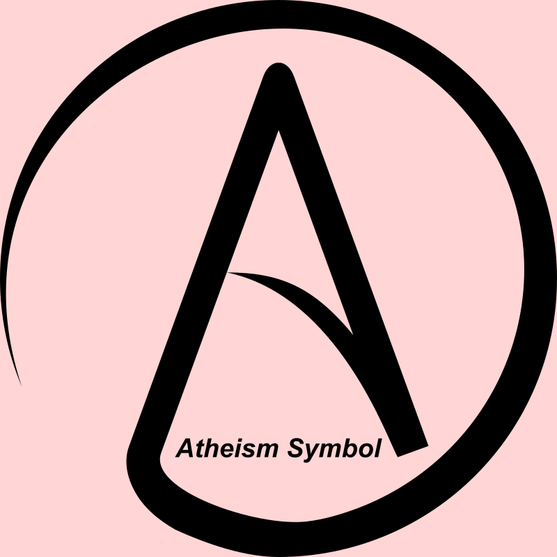 Atheism Symbol (A in Circle)