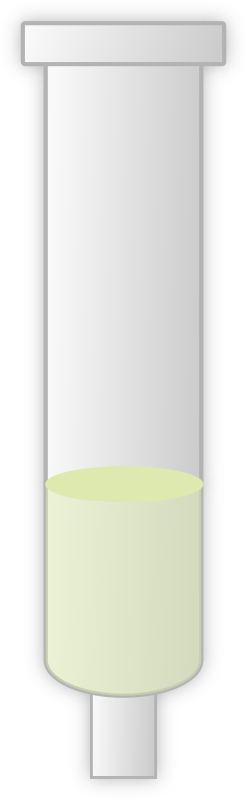 chromatography column