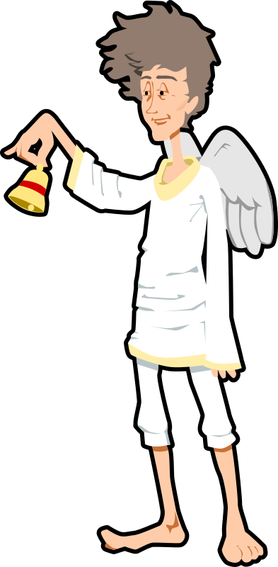 angel with bell