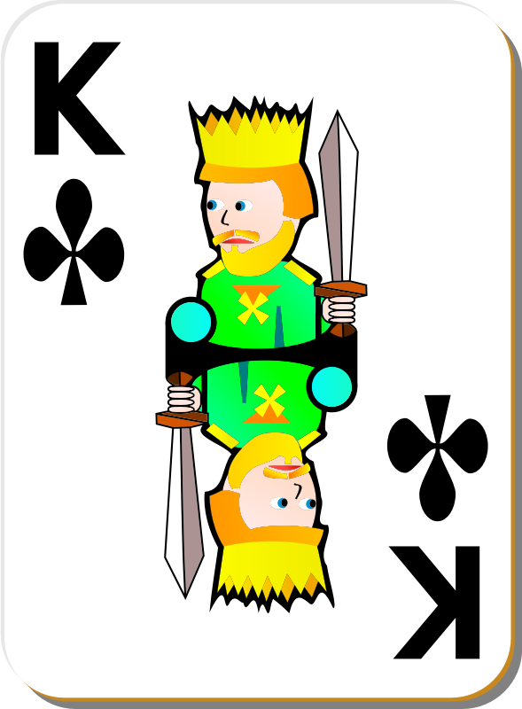 White Deck: King of Clubs