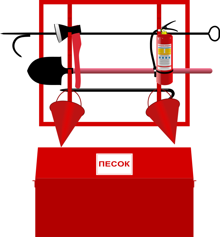 Fire-fighting equipment stand