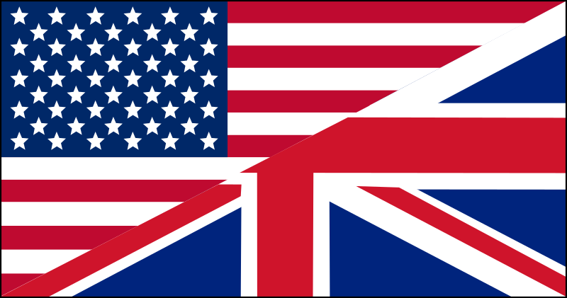US/UK flag