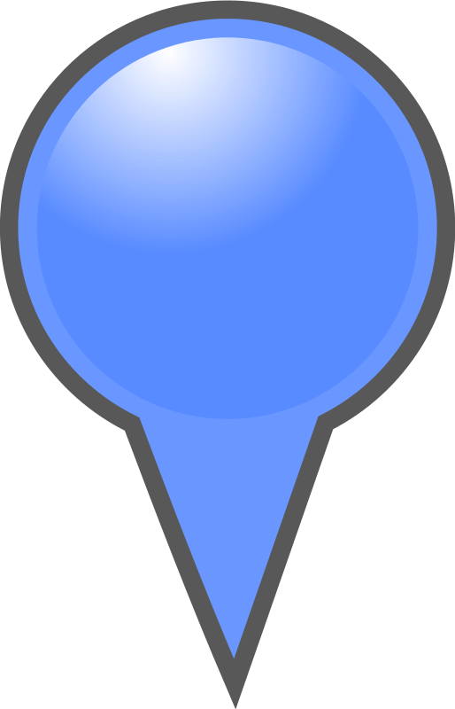 Blue Map Marker