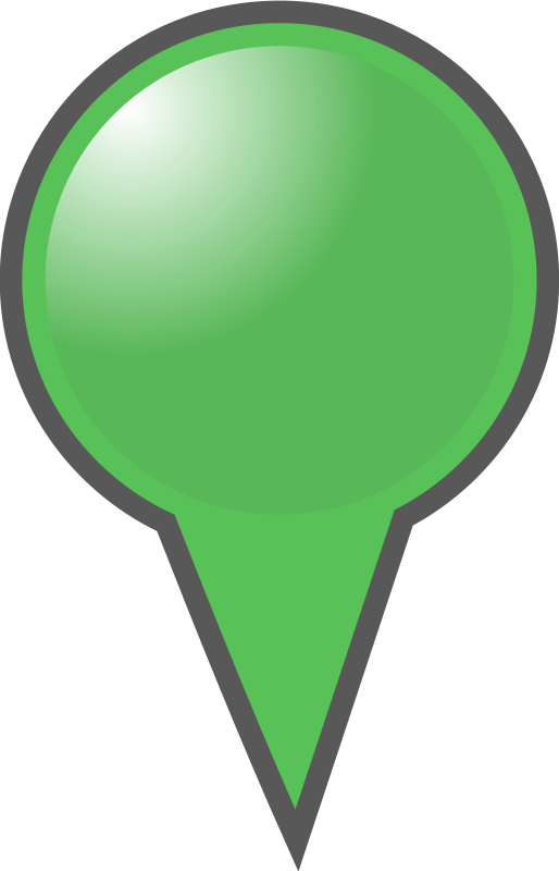 Green Map Marker