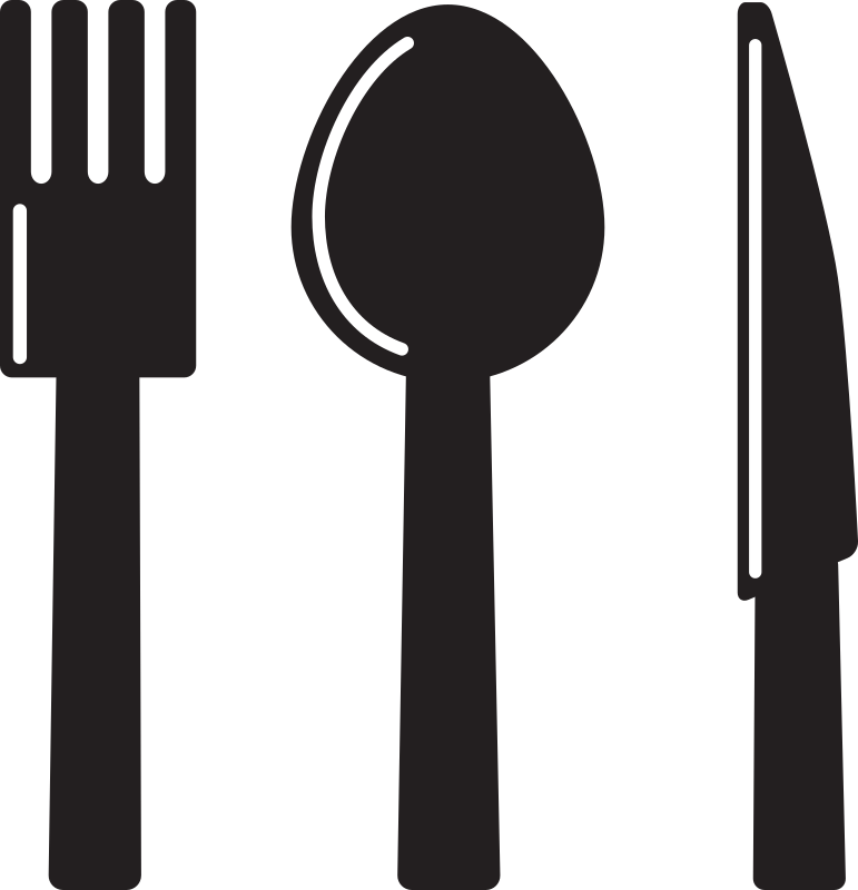 Kitchen Icon - Knife Spoon Fork