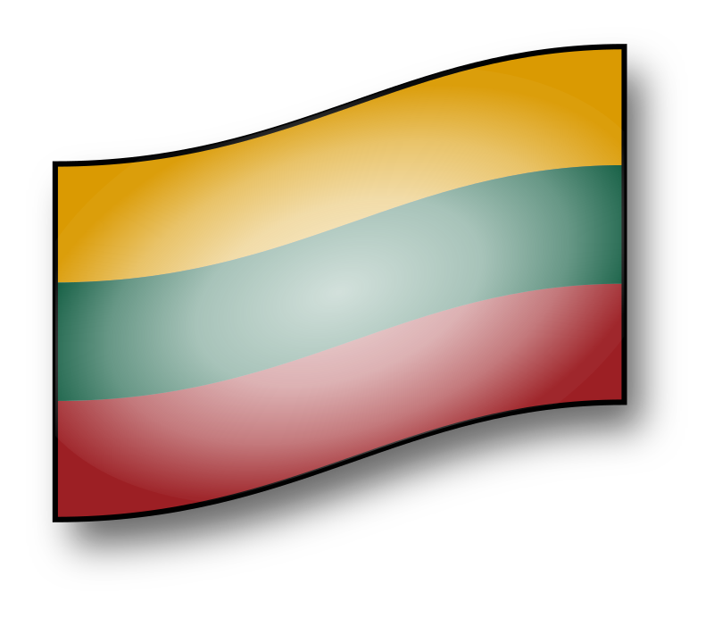 Lithuania flag - interactive