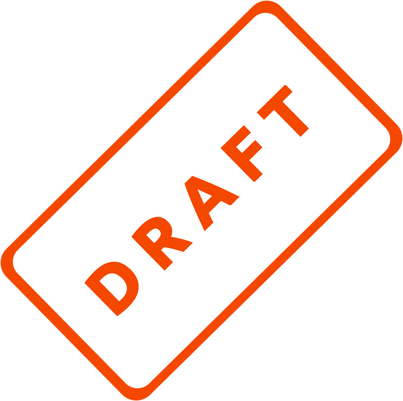 Draft Business Stamp 1