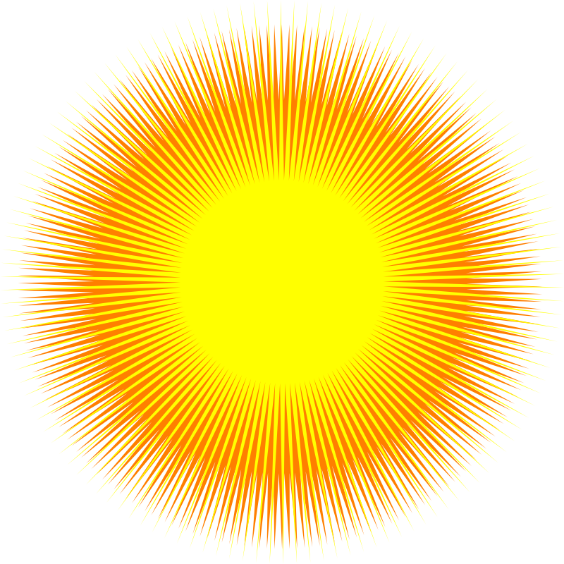 sun abstract design