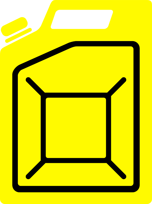 Jerrycan yellow