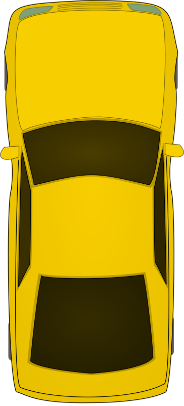 top view car