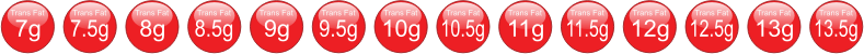 Trans fat icons - 7g to 13.5g