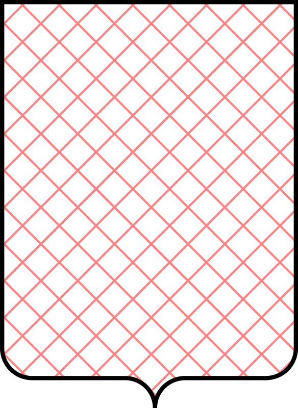 Shield Pattern Grid Transversal