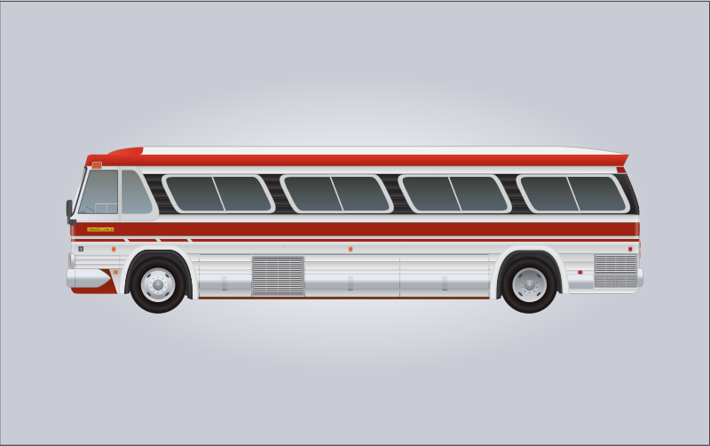 1960's GM PD-4106 Bus
