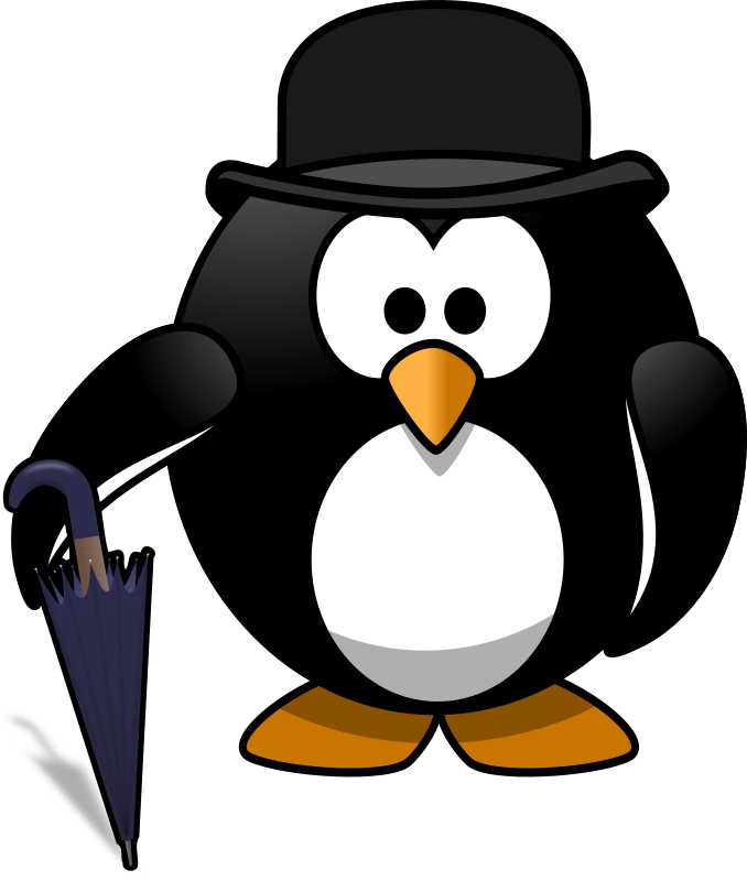 Gentleman penguin