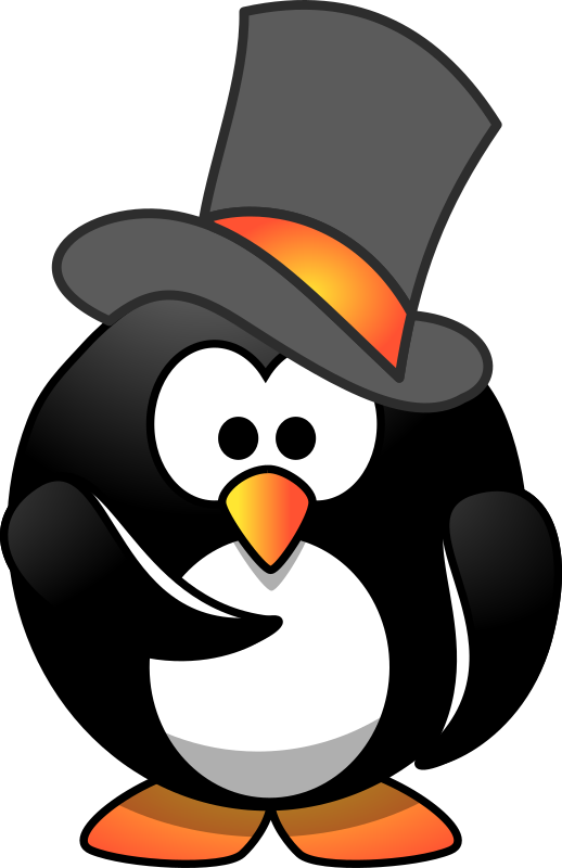 Penguin Top Hat Wants You