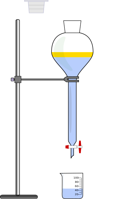separatory funnel
