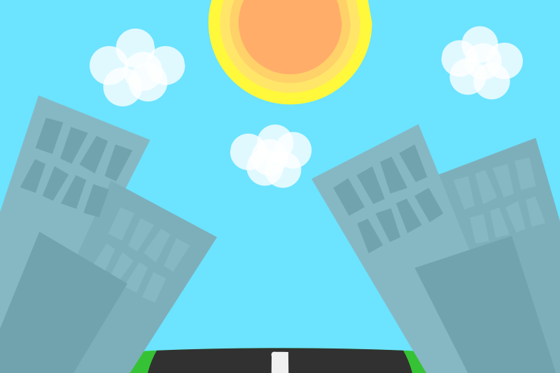 Cartoon City Background