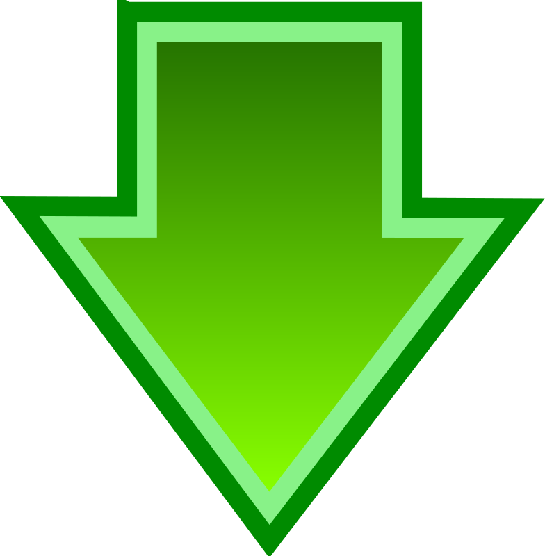 Simple Green Download Arrow
