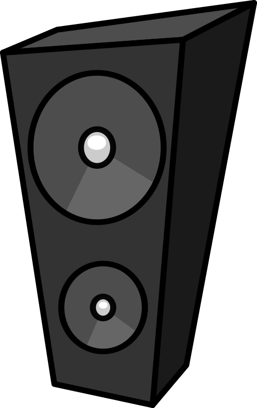 Cartoon speaker 1