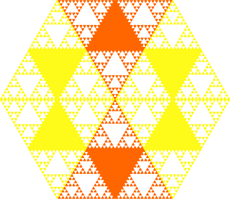 Serpinski hexagon