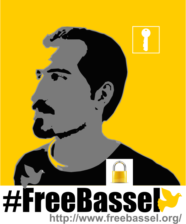 Bassel Poster T-Shirt Design Three