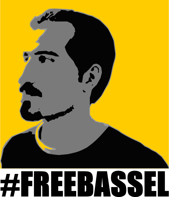 Bassel-Poster-T-Shirt-Design-Three-Variant