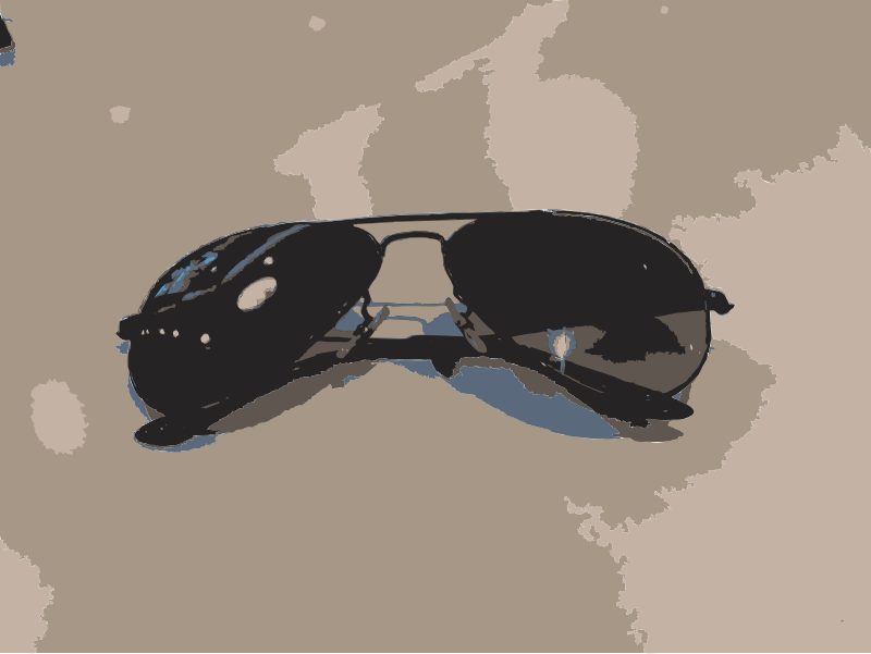 Sunglasses from another angle