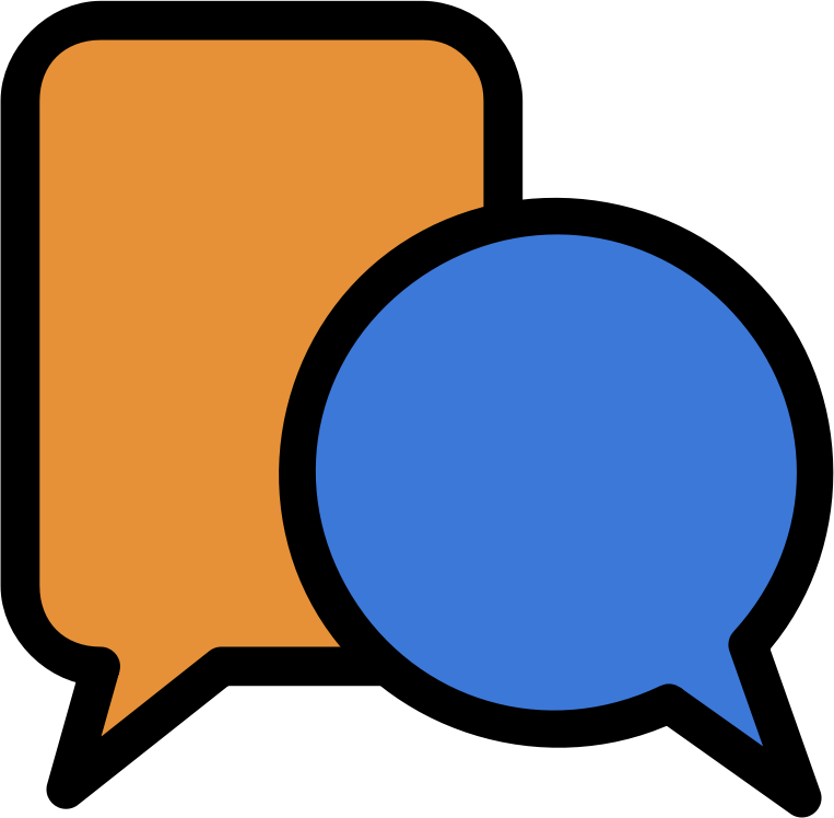 Moodle discussion icon