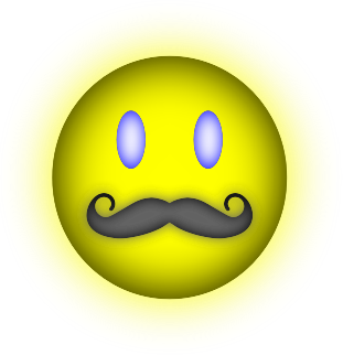 Happy Face Mustache