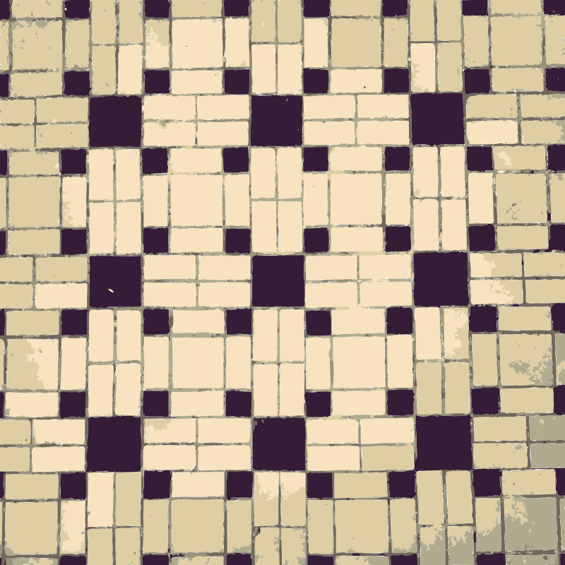 Patterns from floor and ceiling 1