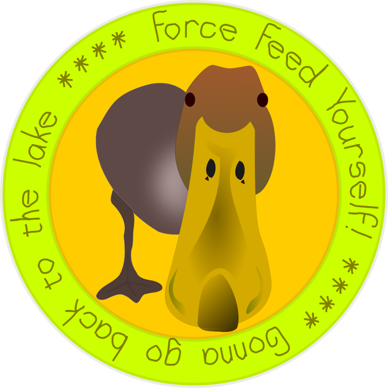 FORCE FEED YOURSELF -- Patch