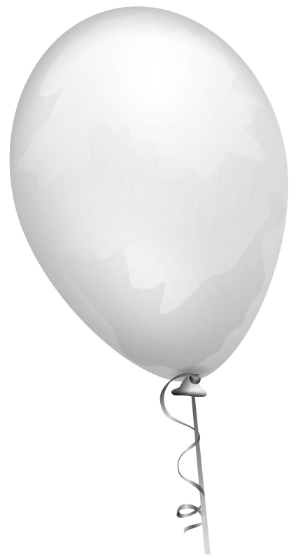 White balloon