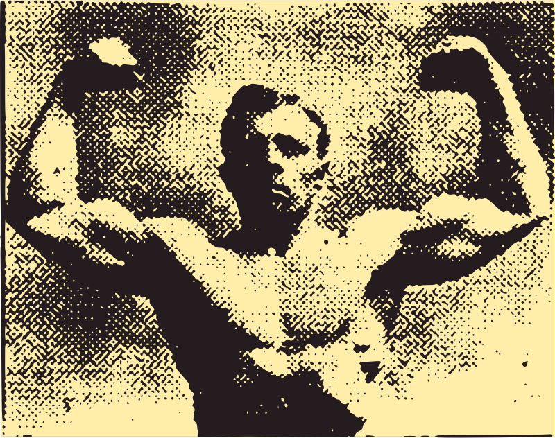 Muscle Man - 1910