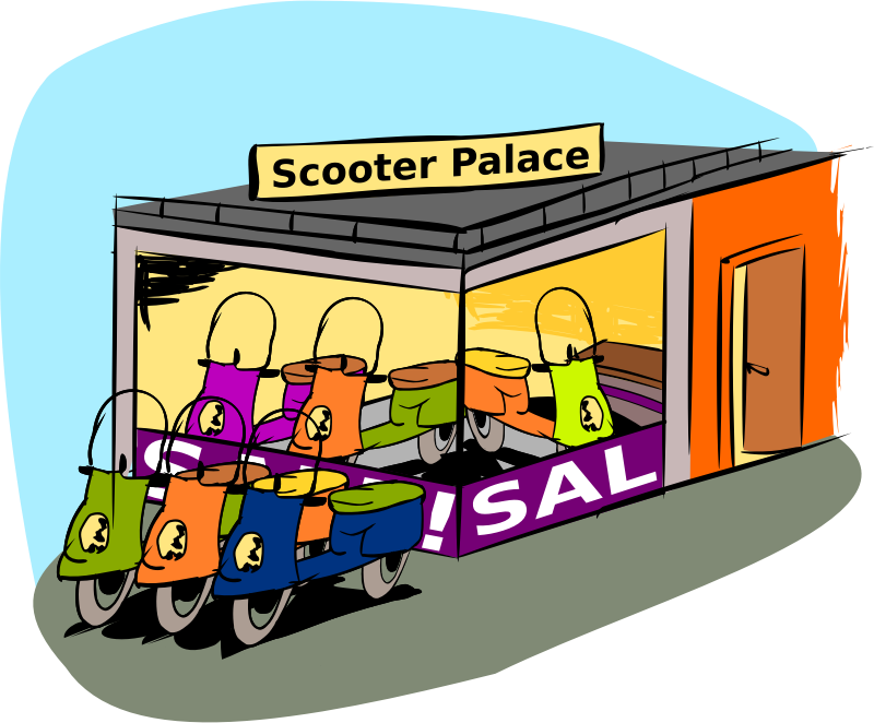 Trading scooters