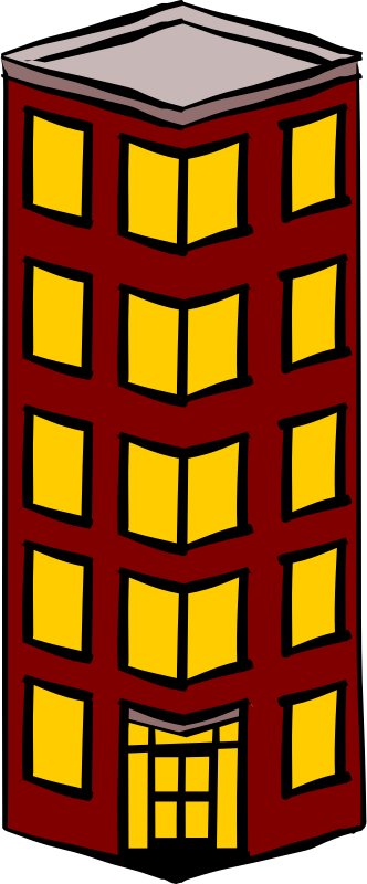 Tower flat